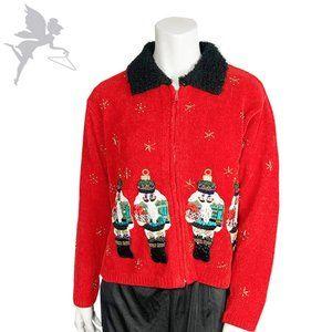 LIKE NEW VINTAGE Nutcracker Ugly Christmas Sweater